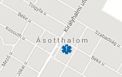 ásotthalom térkép Heniter Gyógyszertár Ásotthalom ásotthalom térkép